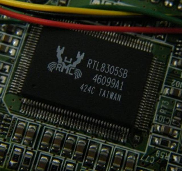 RTL8305SB chip in HOP3003 IP phone.